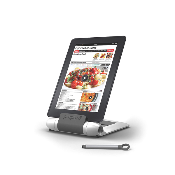 Iprep Tablet Stand & Stylus-White