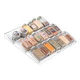 Linus Expandable Spice Rack, Clear
