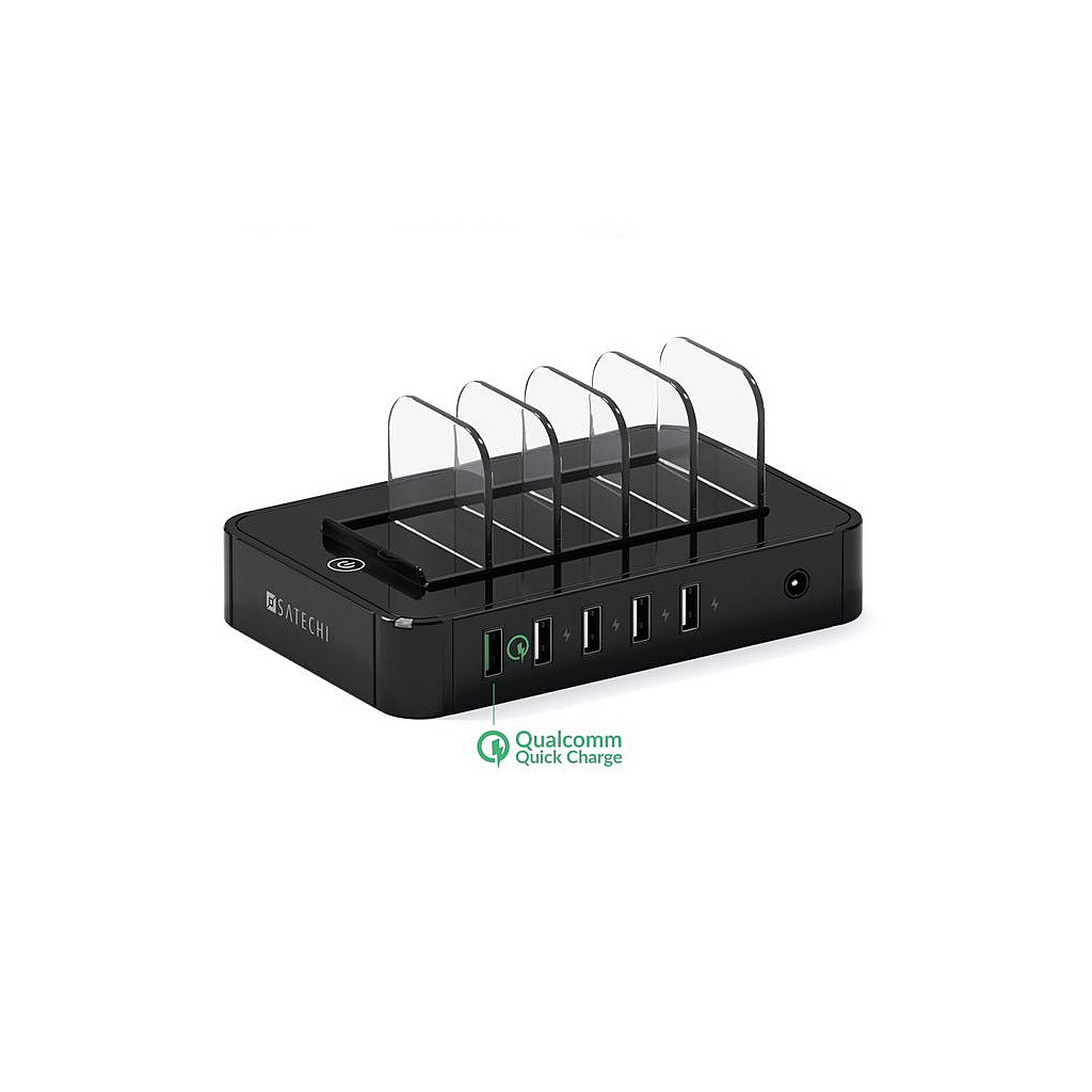 Satechi 5-Port Charging Dock-Black