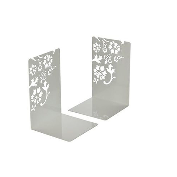 Kirie Book Ends Small (Set of 2)-White