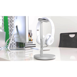 Fermata Headphone Charging Stand, Silver