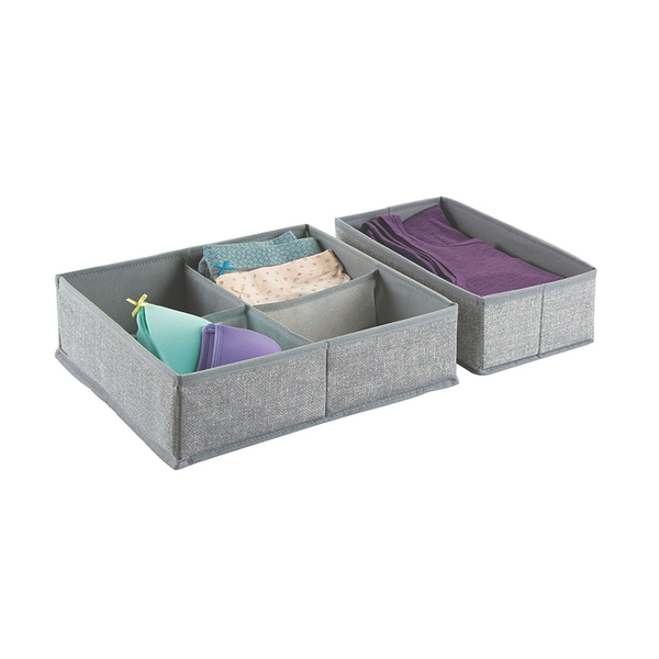 Aldo Drawer Organizer 5S, Large, Gray