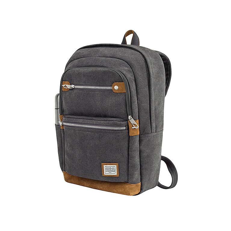 Anti-Theft Heritage Backpack, Pewter