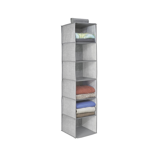 Aldo 6-Shelf Sweater Organizer, Grey