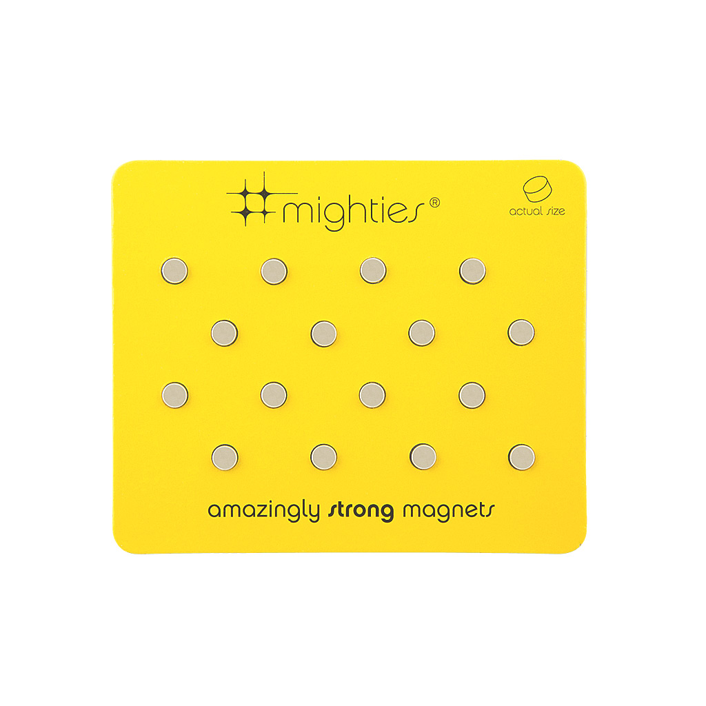 Mighties Magnets, 16 pack