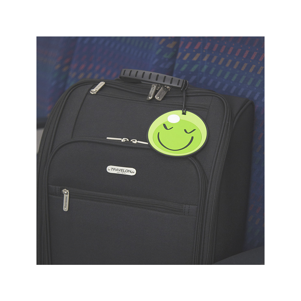 Set of 2 Oversized Luggage Tags, Emojis