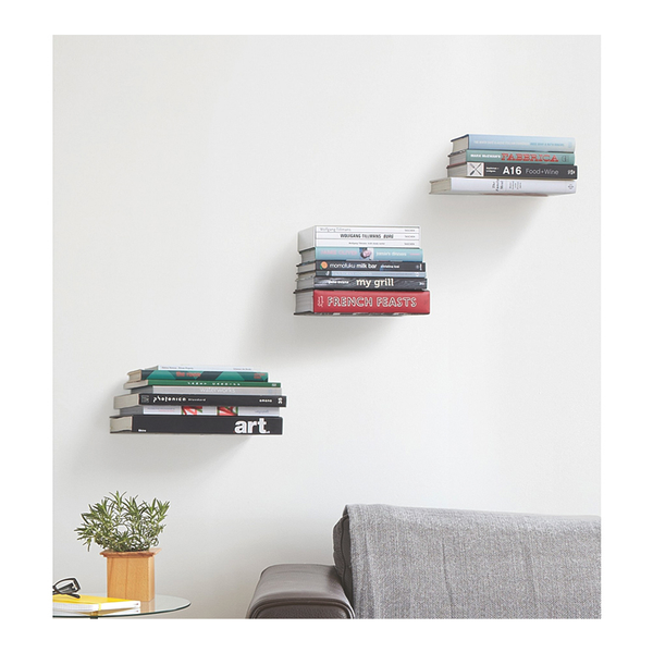 Conceal Shelf, Large, Silver