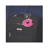 Set of 2 Oversized Luggage Tags,  Doughnuts