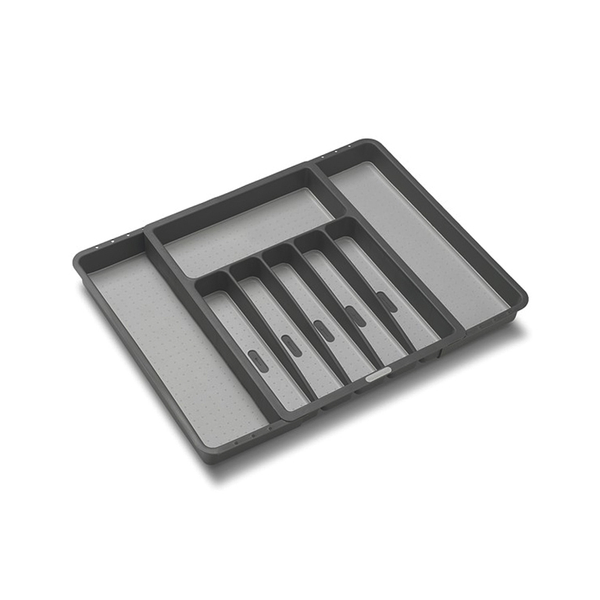 Basic Expandable Silverware Tray, Granite