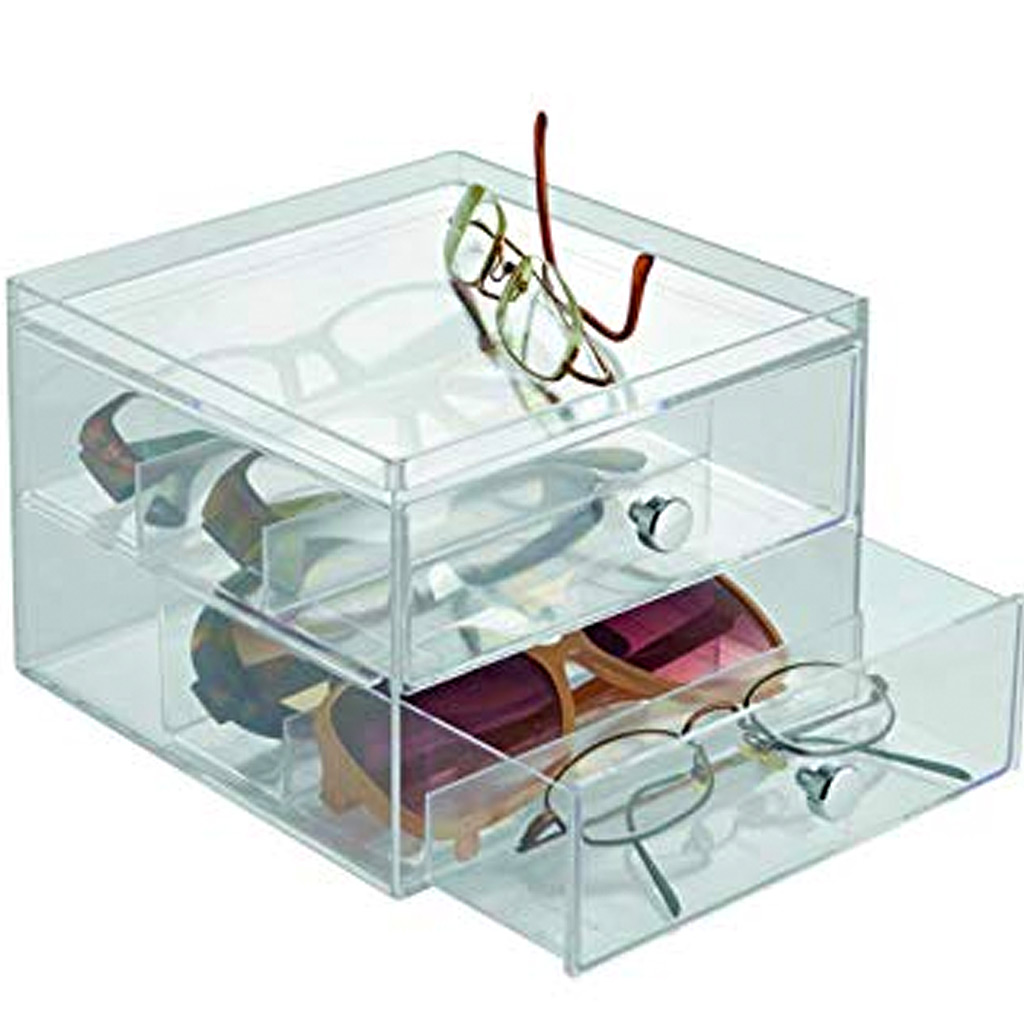 Drawers—Glasses, 2 Drawer