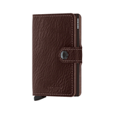 Miniwallet Vegetable Tan Espresso