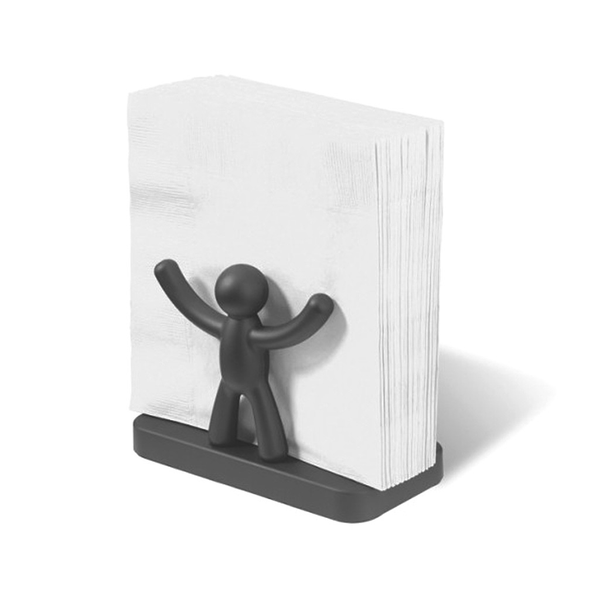 Buddy Napkin Holder Black