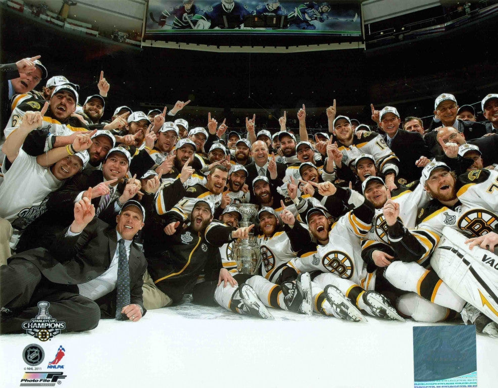 Boston Bruins Stanley Cup Champions 16x20 Photograph