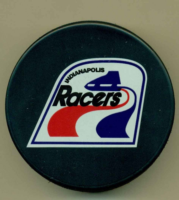 Indianapolis Racers Unsigned Puck