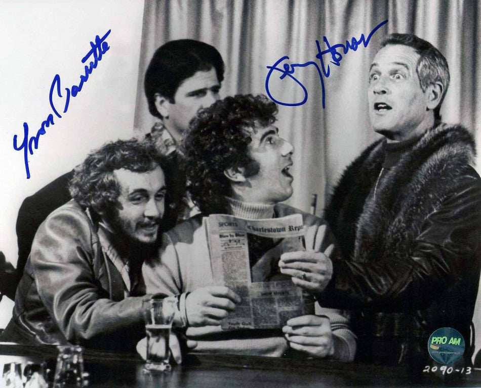 Yvon Barrette as Denis Lemieux & Jerry Houser as 'Dave Killer' Carlson Dual Signed 8x10 Photo