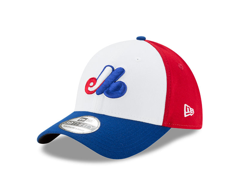Montreal Expos Tri Color New Era 39Thirty Team Classic Cap