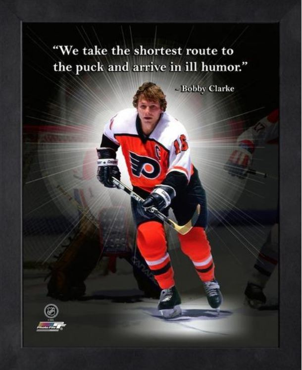 Bobby Clarke Philadelphia Flyers 11x14 Pro Quote