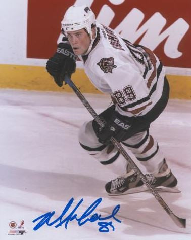 Mike Comrie Edmonton Oilers Autographed 11x14 Photo