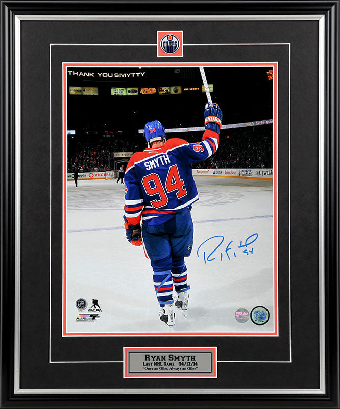Ryan Smyth Edmonton Oilers Autographed 11x14 Photo