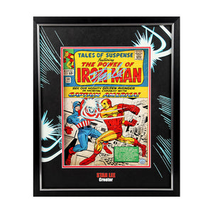 Stan Lee Autographed & Framed 11x14 Comic Book Cover