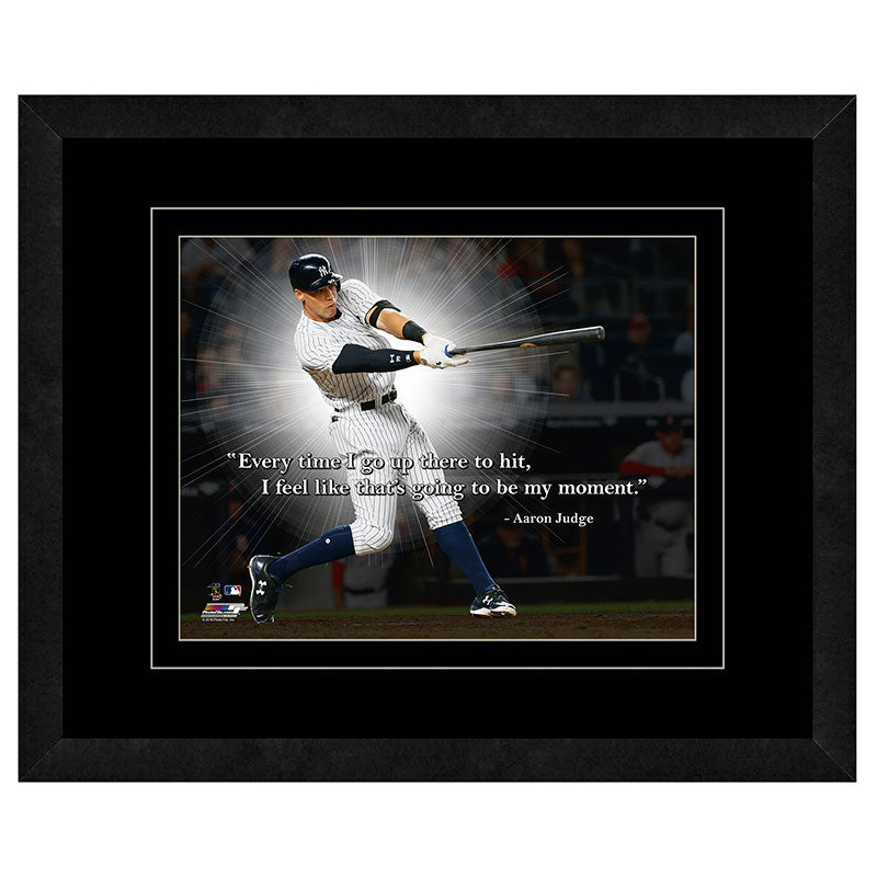 Aaron Judge New York Yankees Framed 11x14 Pro Quote