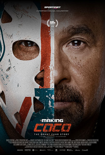 "Grant Fuhr Edmonton Oilers ""Making Coco"" Movie Poster"