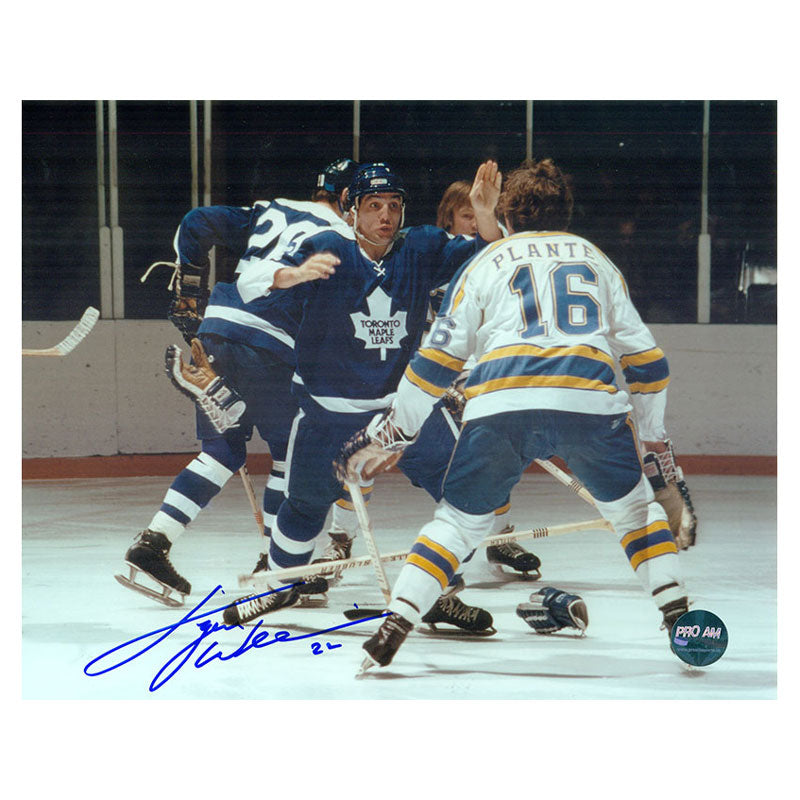"Dave ""Tiger"" Williams Toronto Maple Leafs Autographed 8x10 Photo"