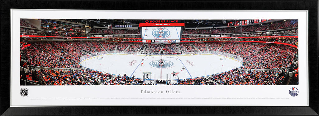 Edmonton Oilers Rogers Place Panoramic Print