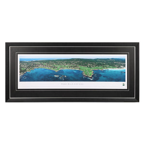 Pebble Beach Golf Links Panoramic Print