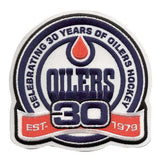 Edmonton Oilers 30th Season 2008-09 Jersey Patch