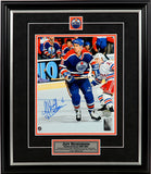 Jeff Beukeboom Edmonton Oilers- Watching The Play - Signed 8x10 Photo