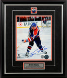 Steve Smith Edmonton Oilers- Shooting - Signed 8x10 Photo