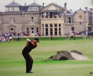 Tiger Woods British Open 16x20 Photograph