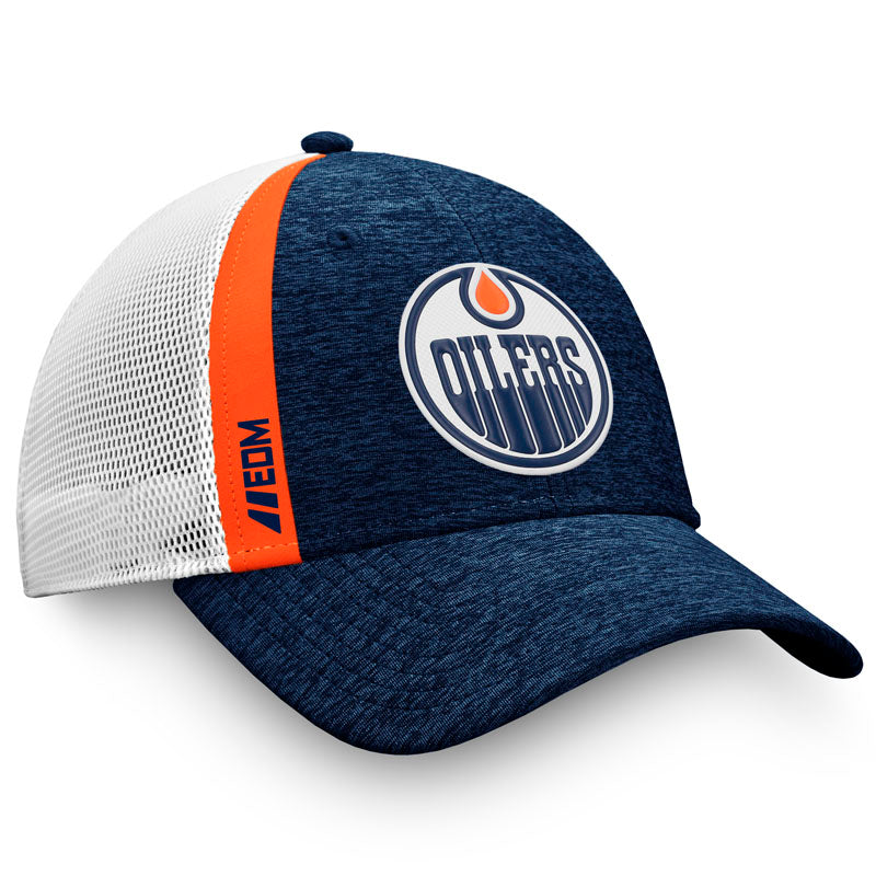 Edmonton Oilers Authentic Pro Locker Room Trucker Hat