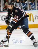 Ryan Smyth Edmonton Oilers Autographed 16x20 Photo