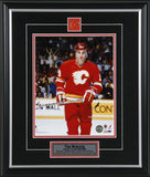 Tim Hunter Calgary Flames The Stare Signed 8x10 Photo