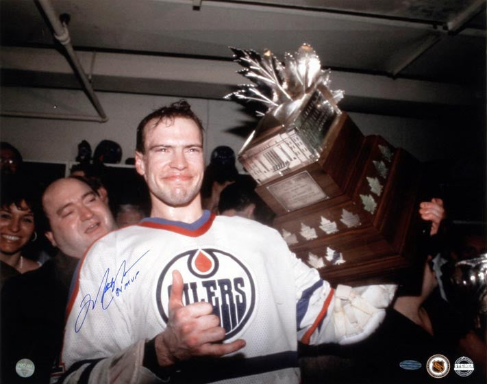 Mark Messier - Edmonton Oilers 1984 Conn Smythe Signed 16x20 Photo