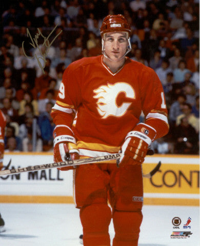 Tim Hunter Calgary Flames Autographed 8x10 Photo