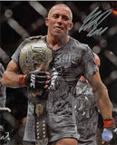 Georges St-Pierre Autographed 8x10 Photo