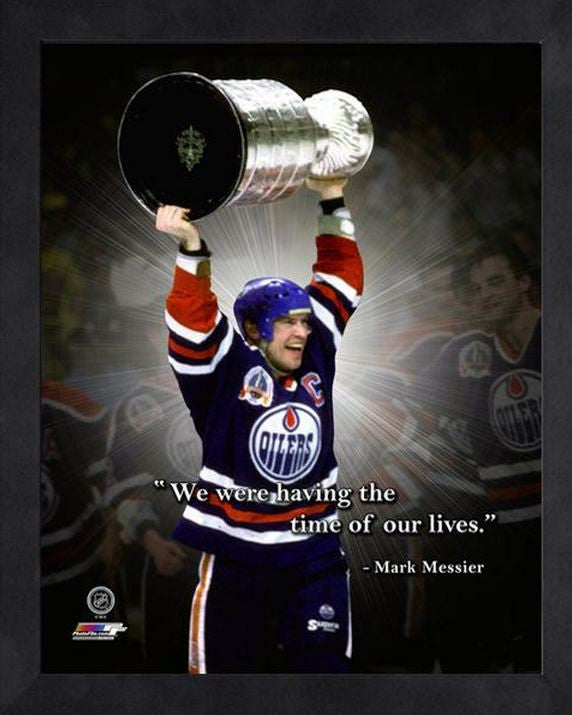 Mark Messier Edmonton Oilers 11x14 Pro Quote