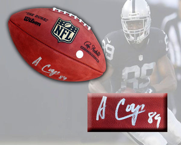 Amari Cooper Autographed Official NFL Game Ball