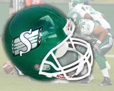 Saskatchewan Roughriders Riddell Deluxe Replica Football Helmet