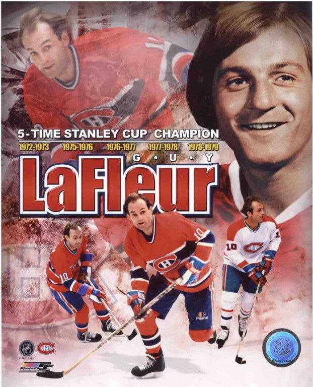Guy Lafleur Montreal Canadiens 8x10 Photograph