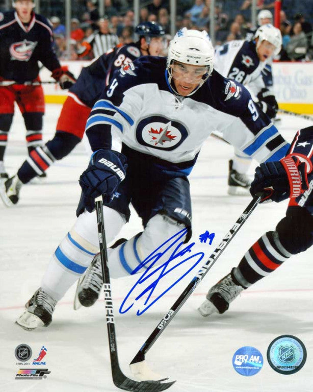 Evander Kane Winnipeg Jets Signed 8x10 Photo