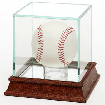 Glass Baseball 1 Ball Display Case