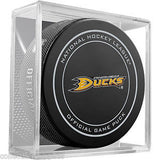 Anaheim Ducks Official NHL Game Puck