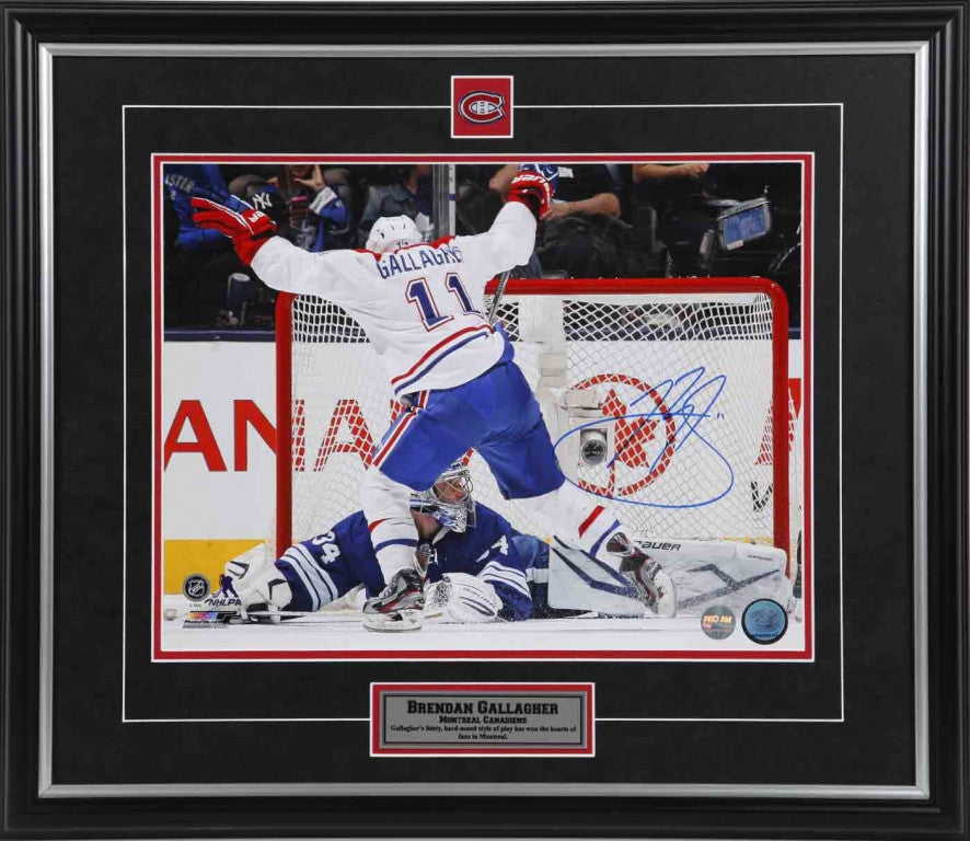 Brendan Gallagher Montreal Canadiens Autographed 11x14 Photo – Pro ... be956c554