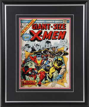 Giant-Size X-Men #1 Framed 11x14 Comic Book Cover