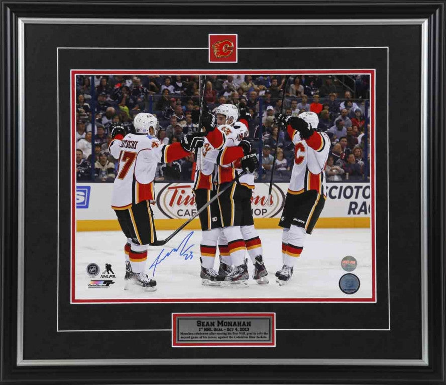 Sean Monahan Calgary Flames Autographed 11x14 Photo