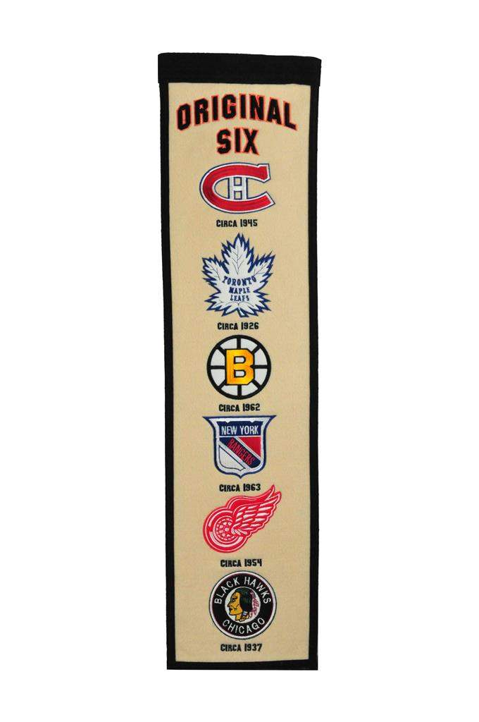 Original Six NHL Heritage Banner